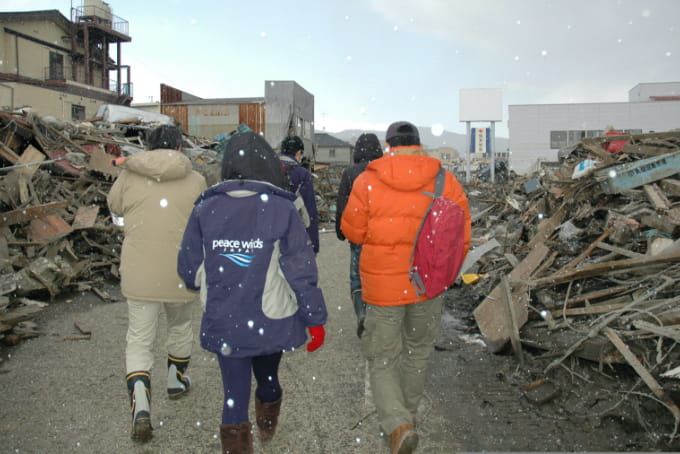 東日本大震災 被災者支援