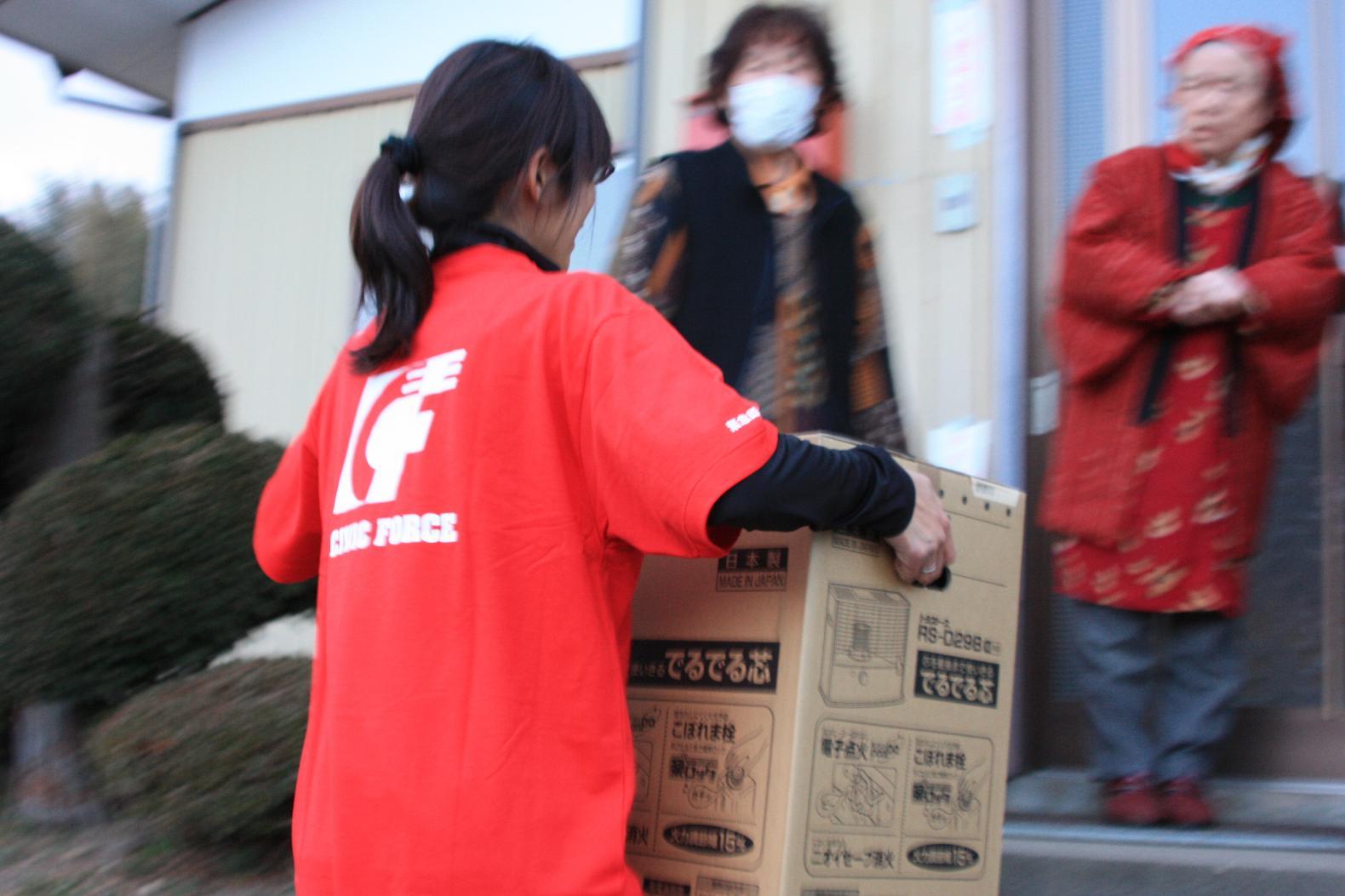 災害直後の避難所に必要な物資を届けるために―支援の「力」を最大化する連携