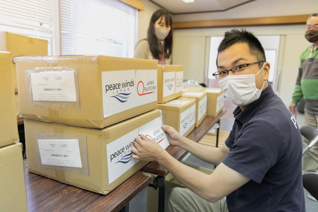 【新型コロナ対策支援】高齢者施設への感染予防物資提供支援を継続しています