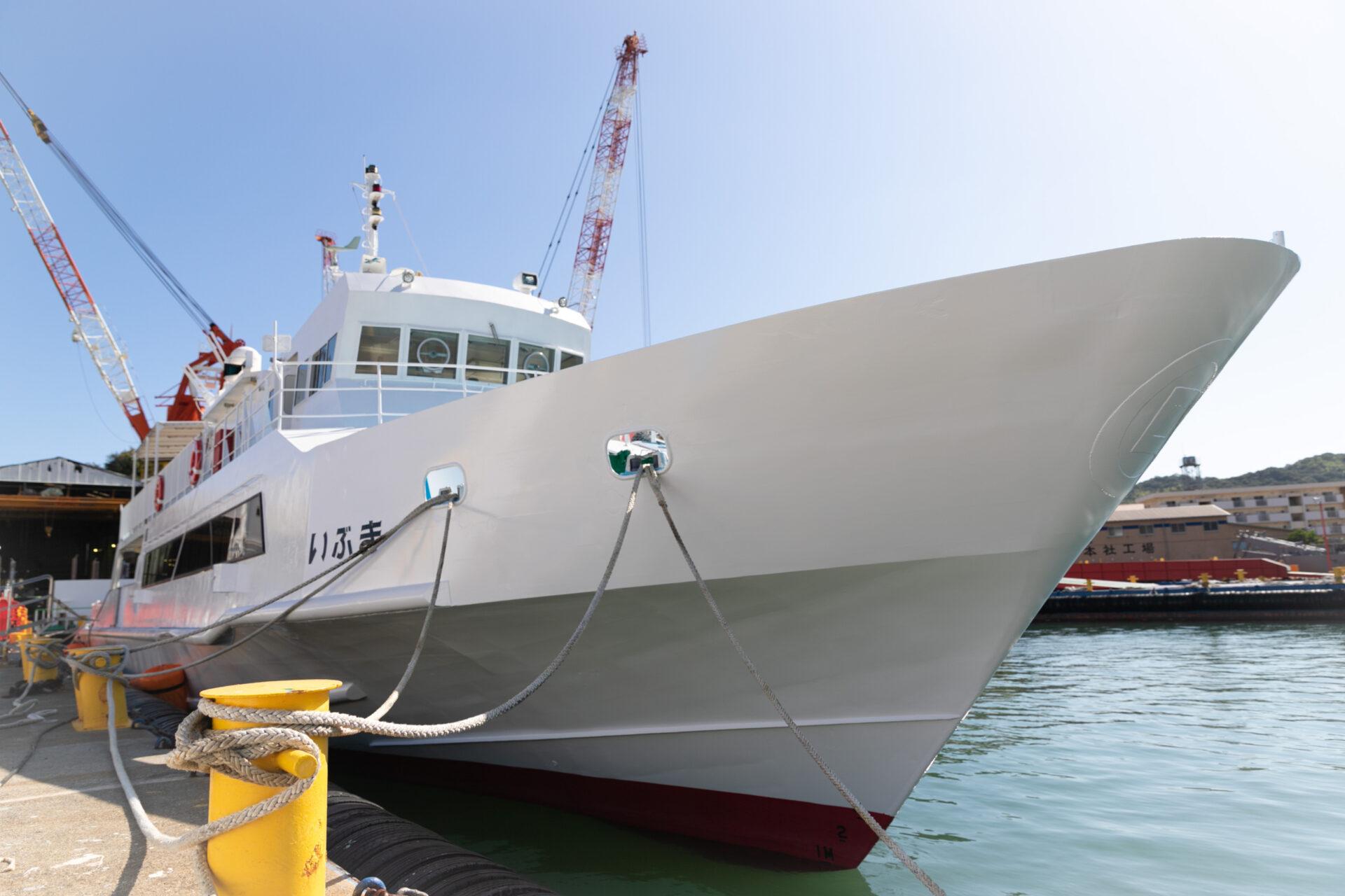 民間初の災害対応医療船