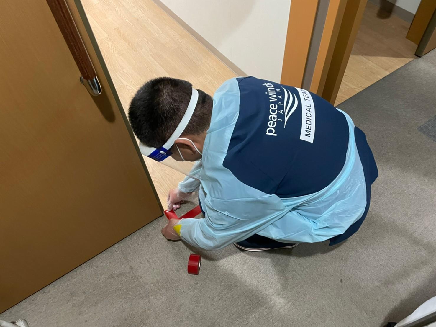 【新型コロナウイルス緊急支援】愛媛県の施設へ医療チームを派遣