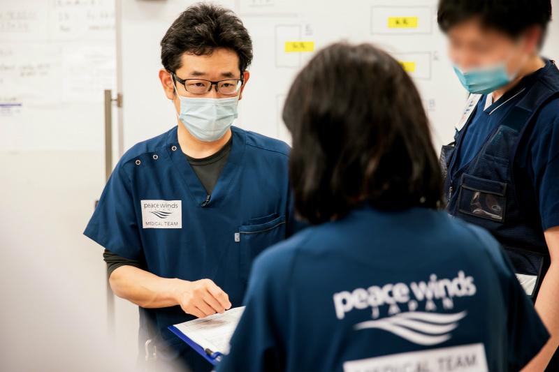 【新型コロナウイルス 緊急支援】岡山県が設置する「一時療養待機所」へ医療チームを派遣します