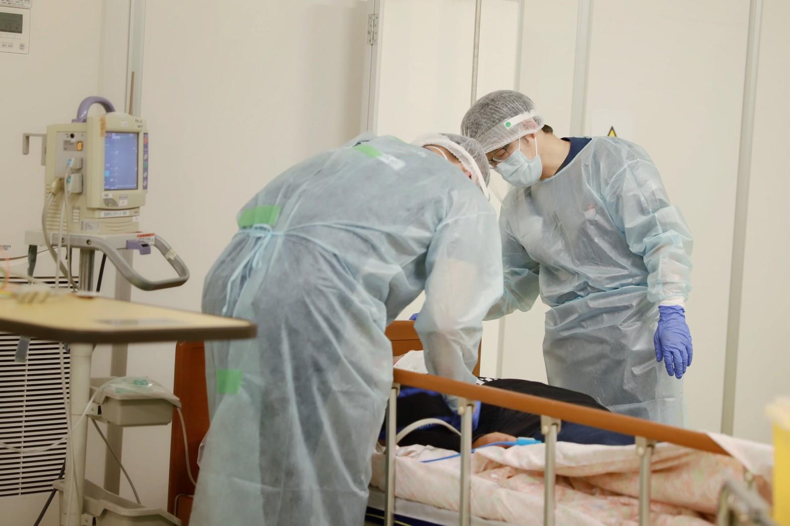 【新型コロナウイルス緊急支援】岡山県の「一時療養待機所」へ医療チームを派遣