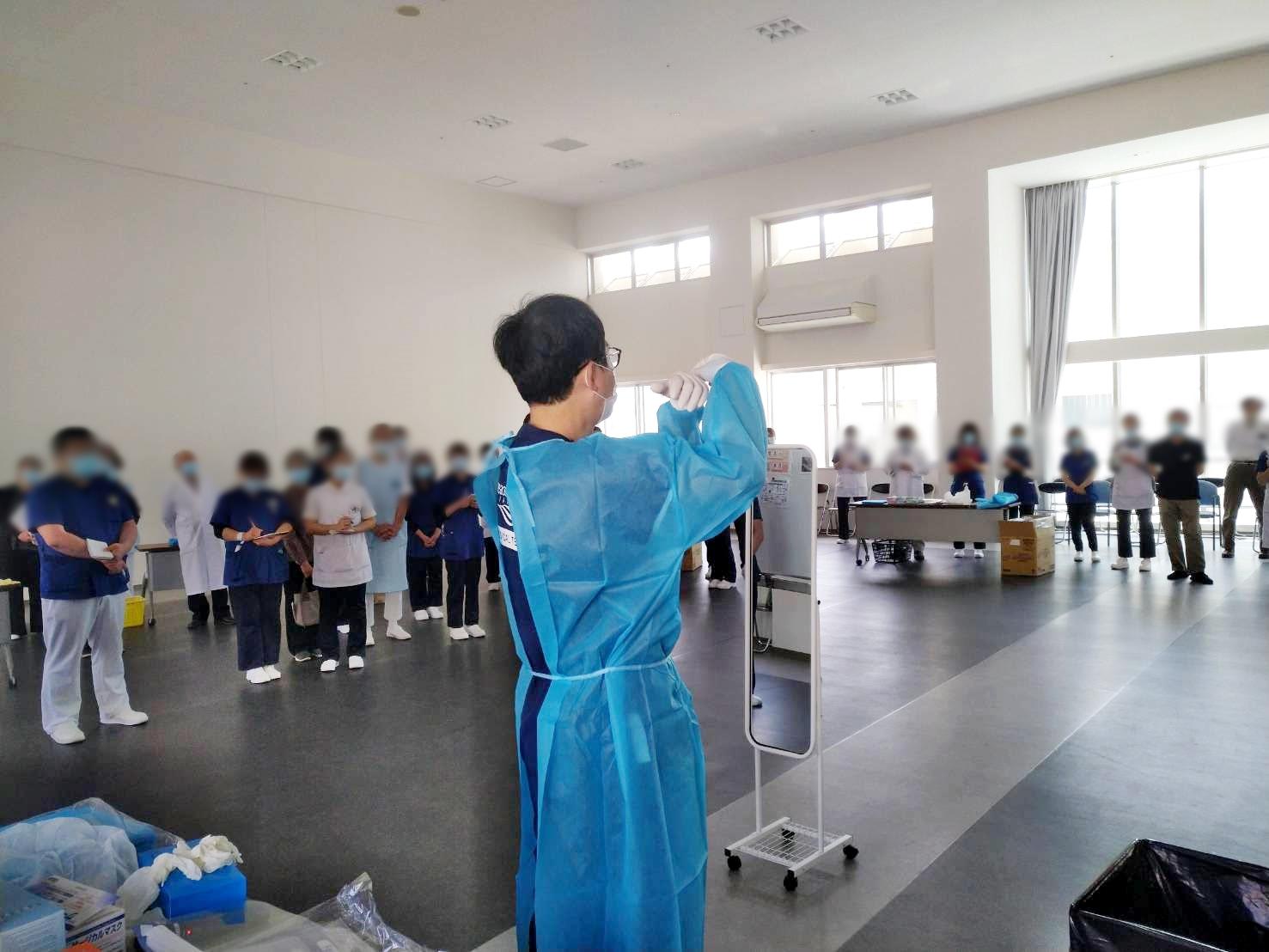 【新型コロナウイルス緊急支援】クラスターが発生した兵庫県・愛媛県へ医療チームを派遣