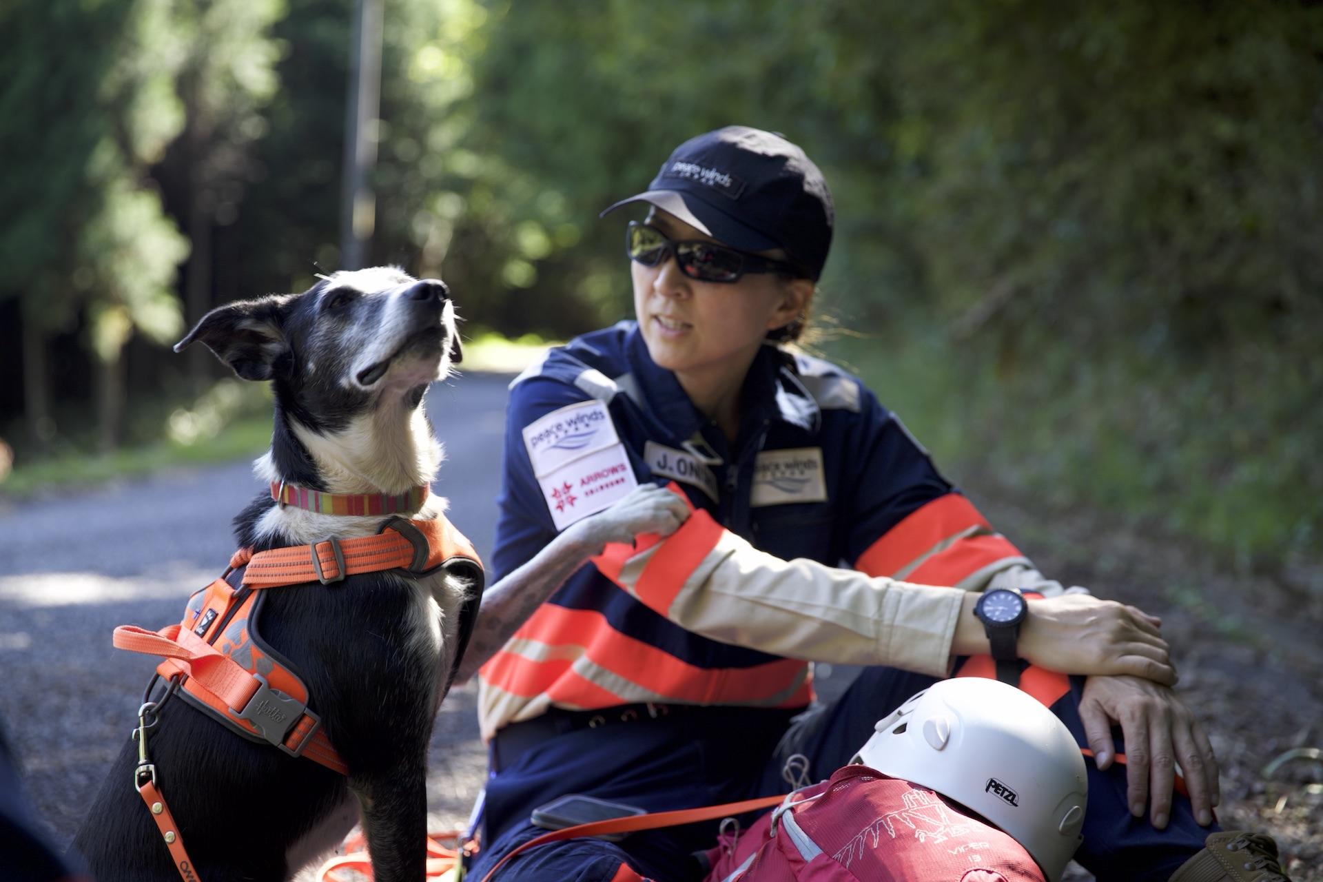 災害救助犬のもう1つの仕事〜1人でも多くの人を救うために〜