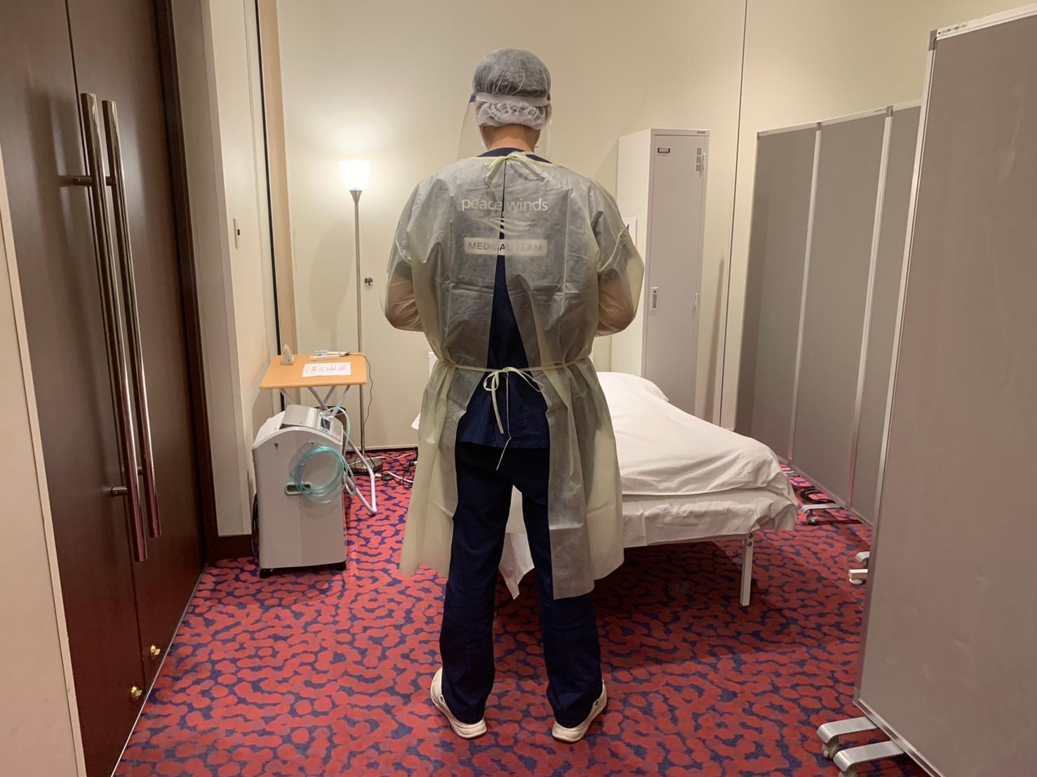 【新型コロナウイルス緊急支援】広島県の「ホテル療養者向けの酸素センター」へ医師を派遣