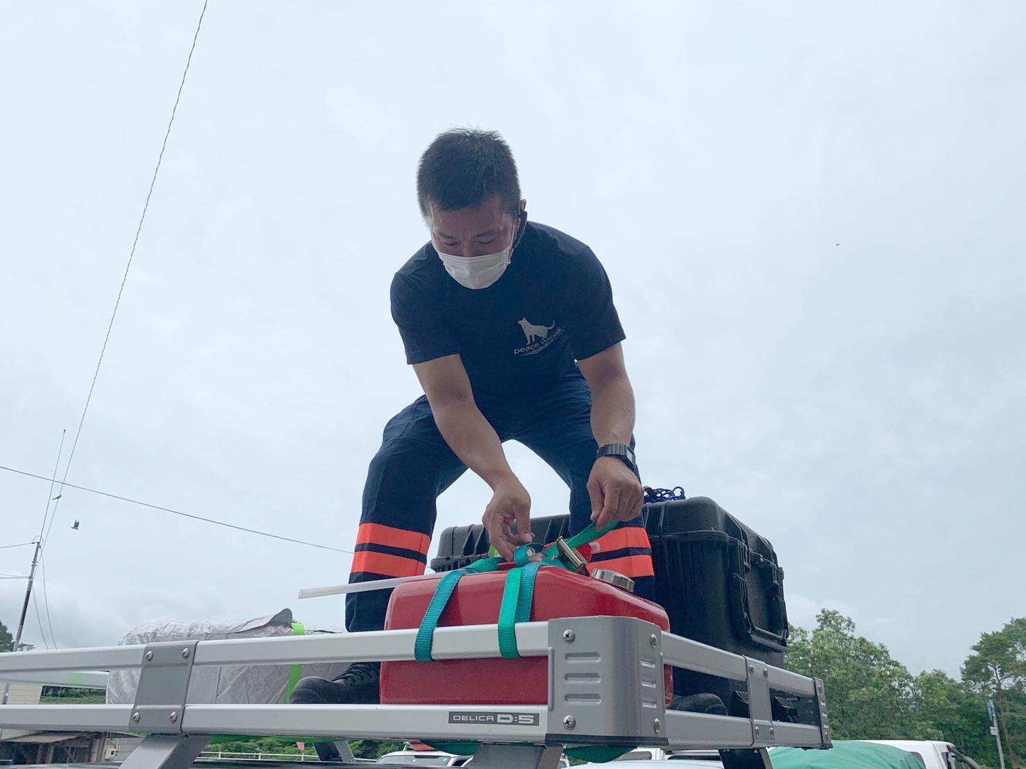 【令和3年7月豪雨】医療・レスキューチームが九州方面へ出動