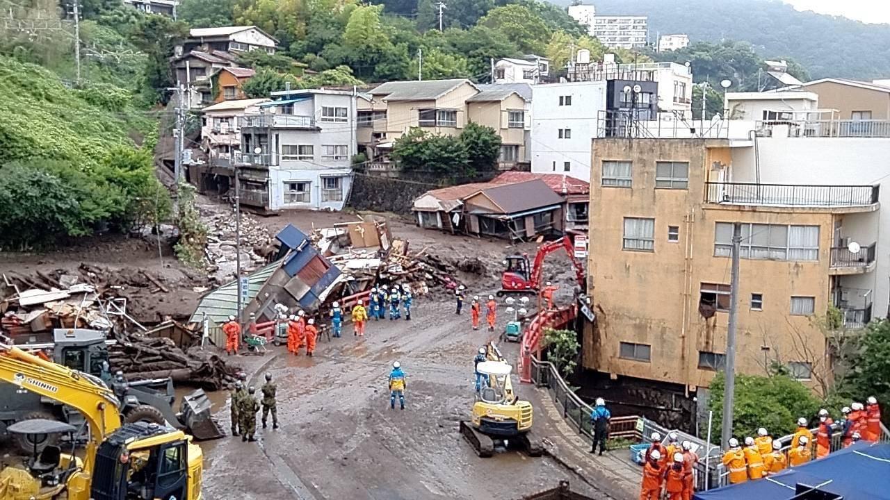 【令和3年7月豪雨災害】熱海市へ調査員2名を派遣