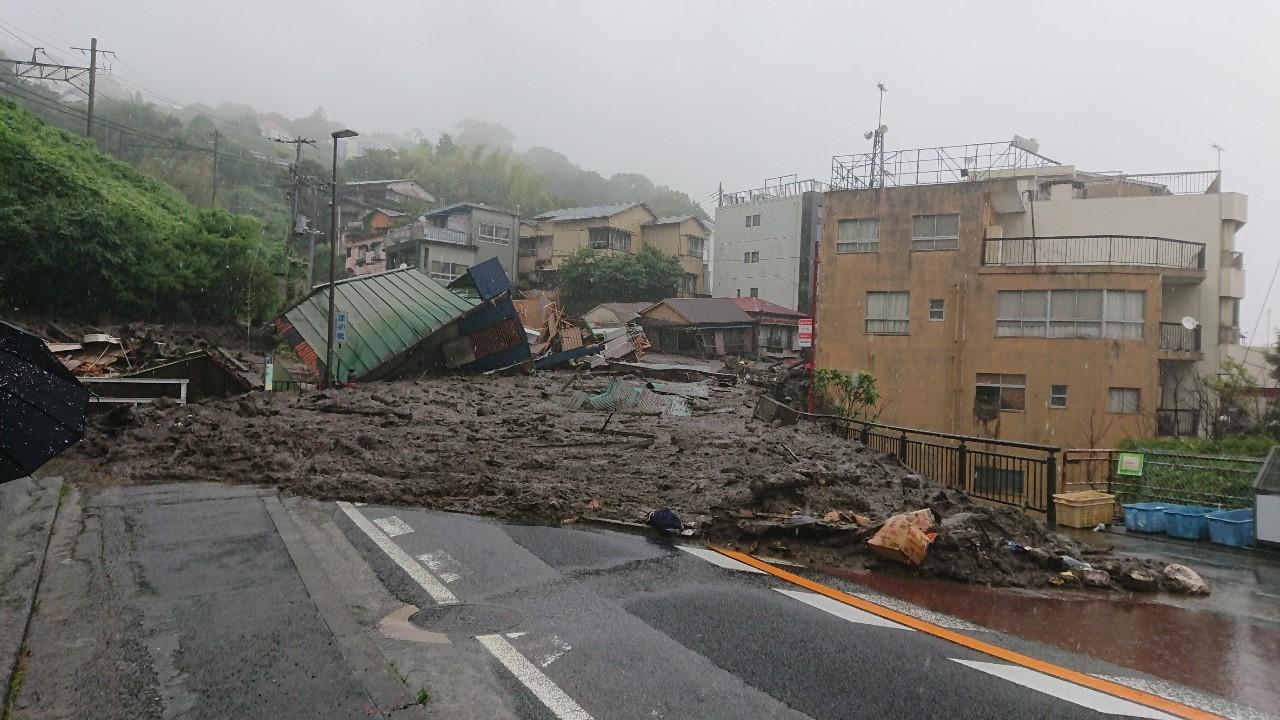 【熱海市土砂災害】これまでの物資支援と新たな支援の開始